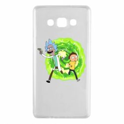 Чохол для Samsung A7 2015 Rick and Morty art