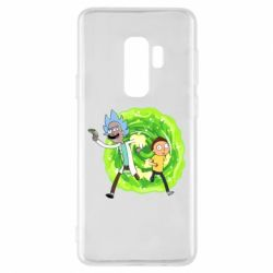 Чохол для Samsung S9+ Rick and Morty art