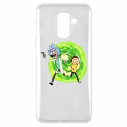 Чохол для Samsung A6+ 2018 Rick and Morty art