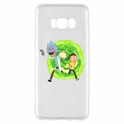 Чохол для Samsung S8 Rick and Morty art