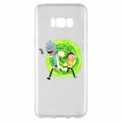 Чохол для Samsung S8+ Rick and Morty art