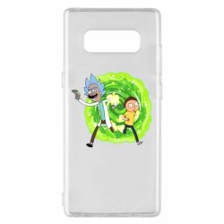 Чохол для Samsung Note 8 Rick and Morty art