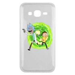 Чохол для Samsung J5 2015 Rick and Morty art