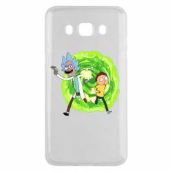 Чохол для Samsung J5 2016 Rick and Morty art