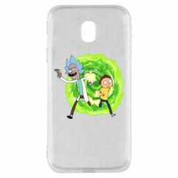 Чохол для Samsung J3 2017 Rick and Morty art