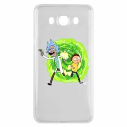 Чохол для Samsung J7 2016 Rick and Morty art