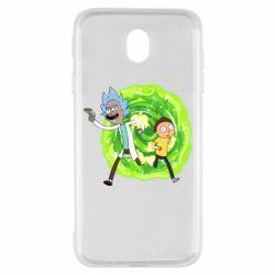 Чохол для Samsung J7 2017 Rick and Morty art