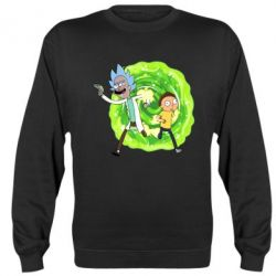 Реглан (світшот) Rick and Morty art