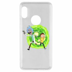 Чохол для Xiaomi Redmi Note 5 Rick and Morty art