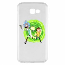 Чохол для Samsung A7 2017 Rick and Morty art