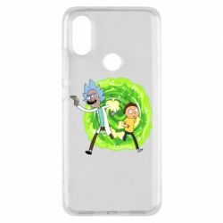 Чохол для Xiaomi Mi A2 Rick and Morty art