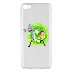 Чохол для Xiaomi Mi5/Mi5 Pro Rick and Morty art