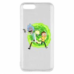 Чохол для Xiaomi Mi6 Rick and Morty art