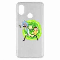 Чохол для Xiaomi Mi8 Rick and Morty art