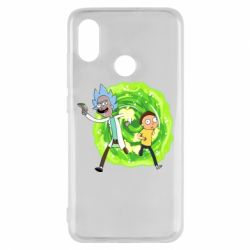 Чохол для Xiaomi Mi8 Rick and Morty art