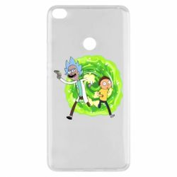 Чохол для Xiaomi Mi Max 2 Rick and Morty art