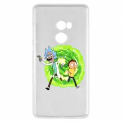 Чохол для Xiaomi Mi Mix 2 Rick and Morty art