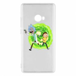 Чохол для Xiaomi Mi Note 2 Rick and Morty art