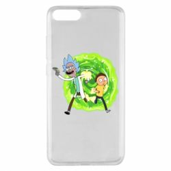 Чохол для Xiaomi Mi Note 3 Rick and Morty art