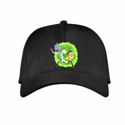 Дитяча кепка Rick and Morty art