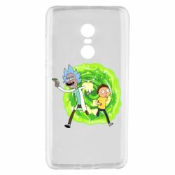 Чохол для Xiaomi Redmi Note 4 Rick and Morty art