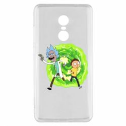 Чохол для Xiaomi Redmi Note 4x Rick and Morty art