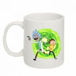 Кружка 320ml Rick and Morty art