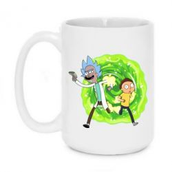 Кружка 420ml Rick and Morty art