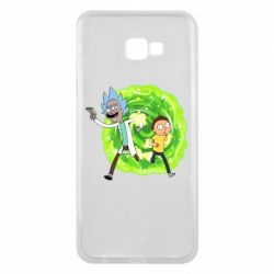 Чохол для Samsung J4 Plus 2018 Rick and Morty art
