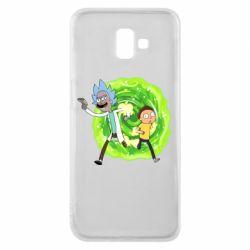 Чохол для Samsung J6 Plus 2018 Rick and Morty art