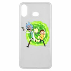 Чохол для Samsung A6s Rick and Morty art