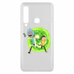 Чохол для Samsung A9 2018 Rick and Morty art