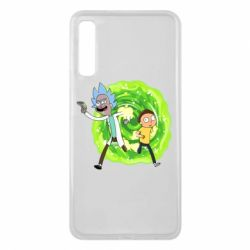 Чохол для Samsung A7 2018 Rick and Morty art