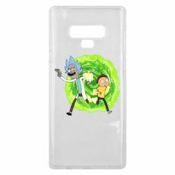 Чохол для Samsung Note 9 Rick and Morty art