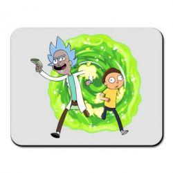 Килимок для миші Rick and Morty art