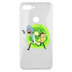 Чохол для Xiaomi Mi8 Lite Rick and Morty art