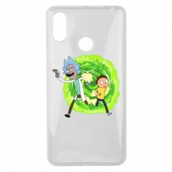 Чохол для Xiaomi Mi Max 3 Rick and Morty art