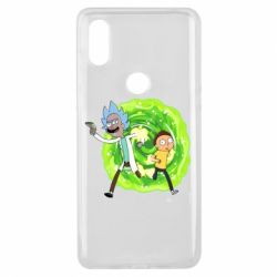 Чохол для Xiaomi Mi Mix 3 Rick and Morty art
