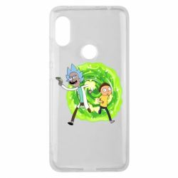 Чохол для Xiaomi Redmi Note Pro 6 Rick and Morty art