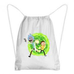 Рюкзак-мішок Rick and Morty art
