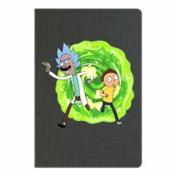 Блокнот А5 Rick and Morty art