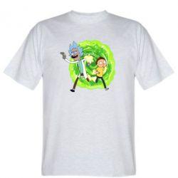 Чоловіча футболка Rick and Morty art