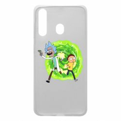 Чохол для Samsung A60 Rick and Morty art