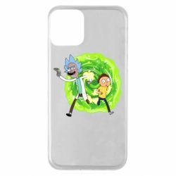 Чохол для iPhone 11 Rick and Morty art