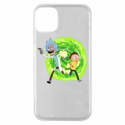 Чохол для iPhone 11 Pro Rick and Morty art