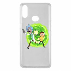 Чохол для Samsung A10s Rick and Morty art