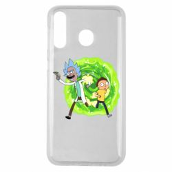 Чохол для Samsung M30 Rick and Morty art