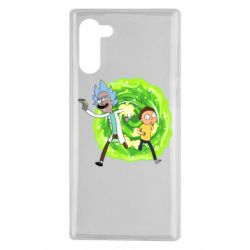 Чохол для Samsung Note 10 Rick and Morty art