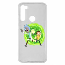 Чохол для Xiaomi Redmi Note 8 Rick and Morty art