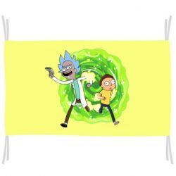 Прапор Rick and Morty art